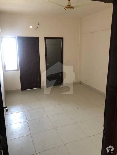 جناح ایونیو کراچی میں 2 کمروں کا 6 مرلہ فلیٹ 1.3 کروڑ میں برائے فروخت۔