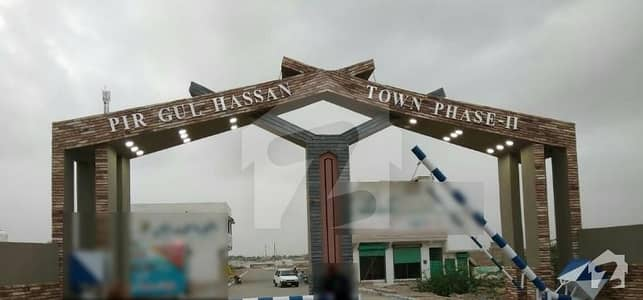 Pir Gul Hassan Town   Plot For Sale