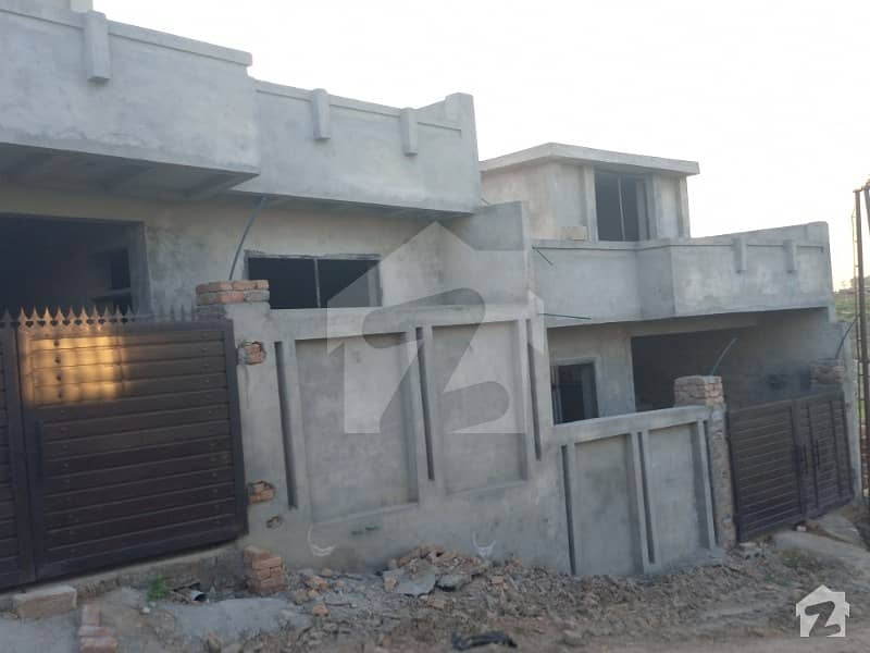 5 Marla Structure House For Sale In  Ghq Housing Society