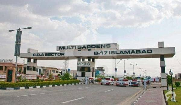 بی ۔ 17 اسلام آباد میں 11 مرلہ کمرشل پلاٹ 2.2 کروڑ میں برائے فروخت۔