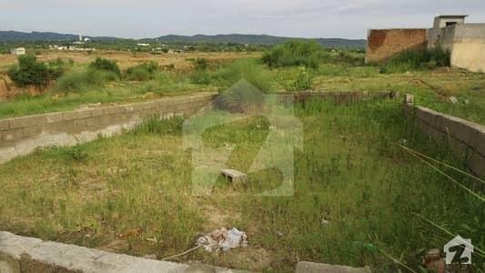 Well-Located 5-Marla Residential Plot For Sale In Thanda Pani Islamabad