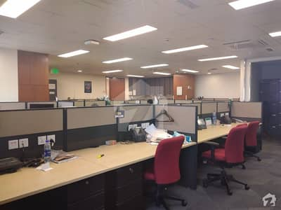 2000 Sq Ft Semi Furnished Office Space For Rent In Good Office Project Of Clifton