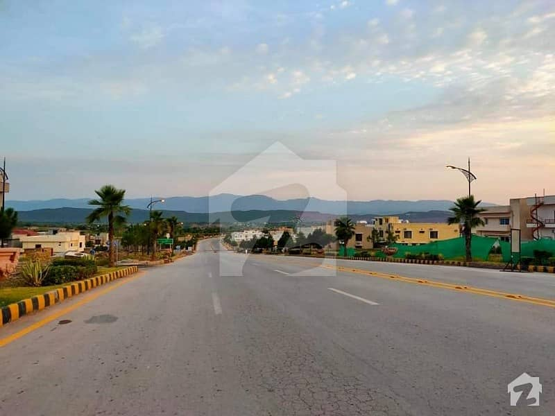 Outstanding Location 13 Marla Semi Corner Commercial Plot For Sale In Bahria Enclave Islamabad Sector G