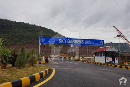 1 Kanal Plot For Sale In Commoners Sky Gardens Islamabad