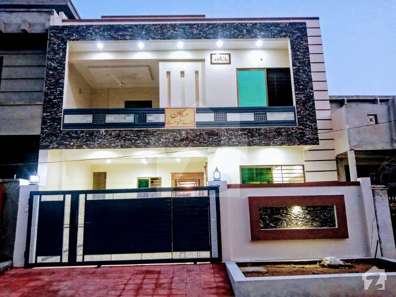 7 Marla Brand New House With Full Facilities Available For Sale In Jinnah Garden