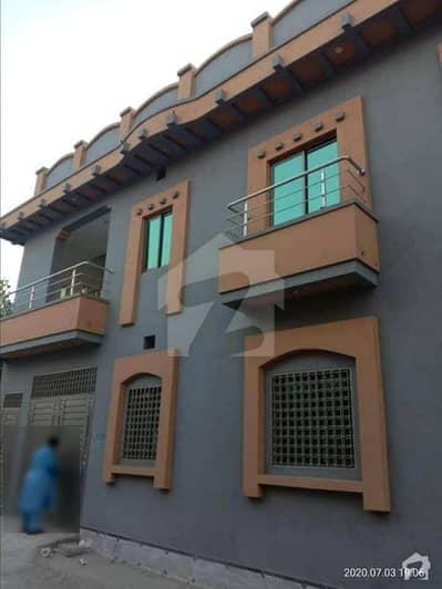 4 Marla Beautiful Fresh 3 House For Sale In Muslim City Gt Road Peshawar