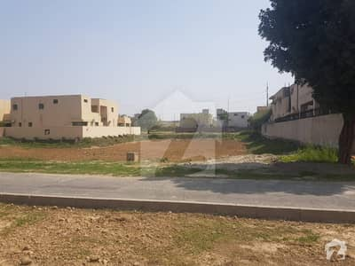 Defence 2 Kanal Residential Plot Main 150 Ft Road Clear Plot No Dp No Pole
