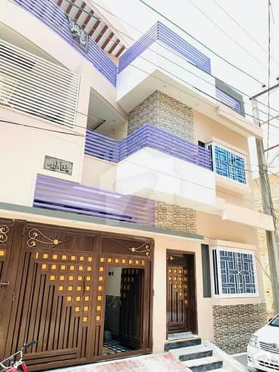 ارباب سبز علی خان ٹاؤن ورسک روڈ پشاور میں 6 کمروں کا 6 مرلہ مکان 1.45 کروڑ میں برائے فروخت۔