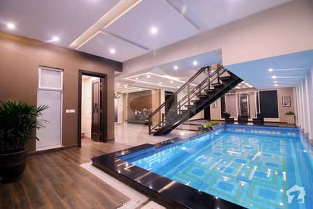Most Elegant Bungalow With Full Basement And Swimming Pool Available For Sale