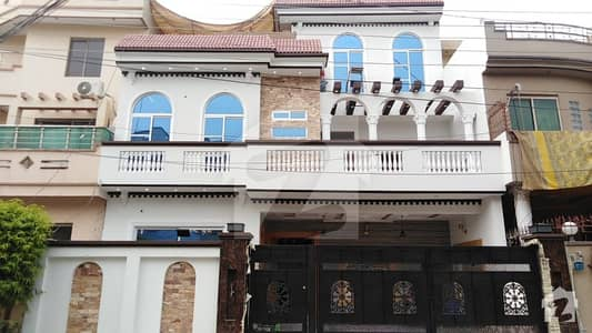 10 Marla Brand New House Is Available For Sale In Marghzar Officers Colony Lahore