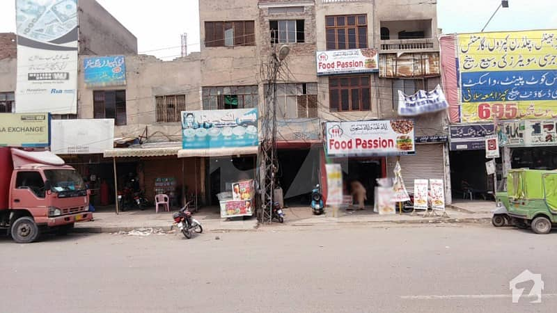 370 Sq Feet Triple Storey Commercial Building For Sale On Allama Iqbal Main Boulevard Lahore