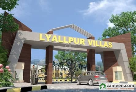 Farm House Land In Lyallpur Villas For Sale