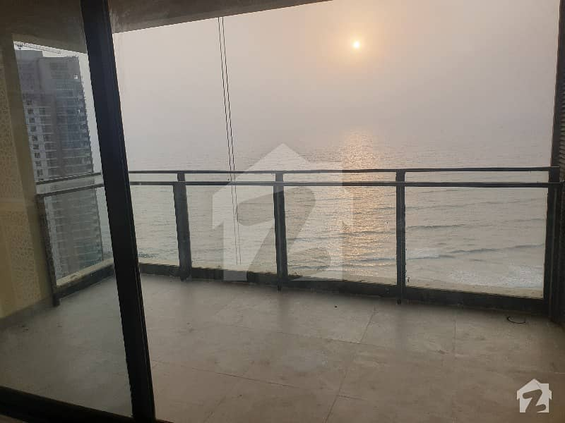 Brand New 4Bed Sea Facing Apartment For Rent In Coral Towers Emaar Crescent Bay Karachi
