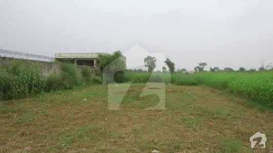 بیدیاں روڈ لاہور میں 8 کنال زرعی زمین 4.8 کروڑ میں برائے فروخت۔