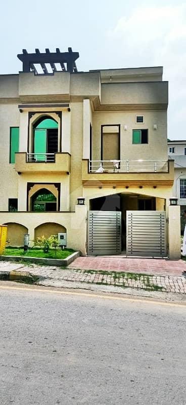 Bahria Town Phase 8 Rawalpindi Safari Valley Rafi Block 5 Marla House For Sale Dem 1 Crore 20 Lac