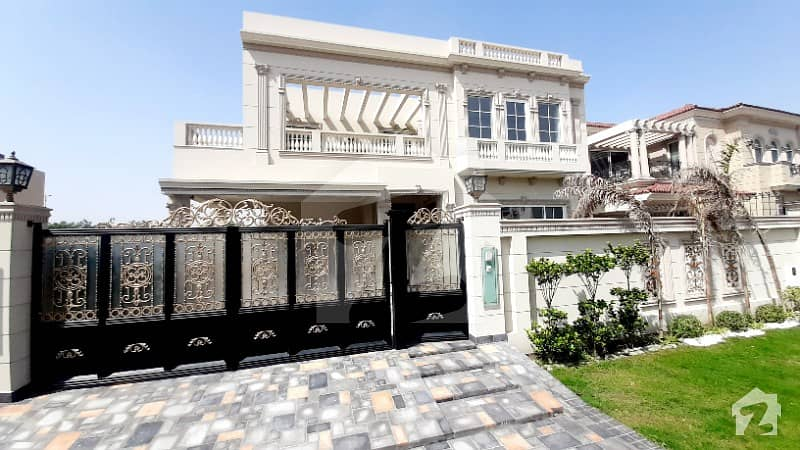 Dha 20 Marla Italian Royal Touch Modern Bungalow Located At Most Prime Location Available For Sale