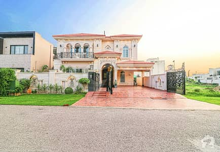1 Kanal Brand New Beautiful And Luxury Spanish Design Bungalow For Sale