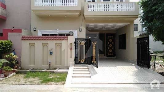 5 Marla Brand New Luxury Triple Storey House For Sale In Canal Gardens Lahore