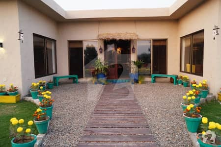 4 Kanal 3 Bed Corner Farmhouse For Sale With Pool Transformer In A Gated Society