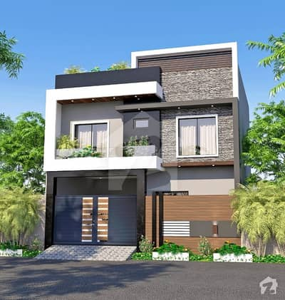 5 Marla New House For Rent In Model City 1