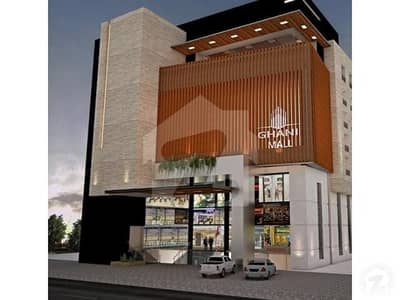 ال غنی مال جی ٹی روڈ اسلام آباد میں 3 کمروں کا 6 مرلہ فلیٹ 1.55 کروڑ میں برائے فروخت۔