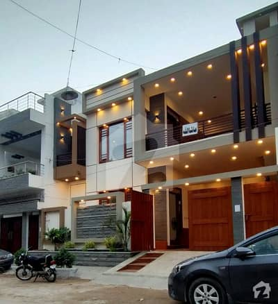 Gulistan Jauhar Vip Block 7 Prime Location Brand New House For Sale