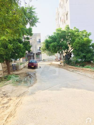 240 Sq Yards Next To Corner 40 Ft Road West Open Plot For Sale In Zeenatabad Chs  Scheme 33