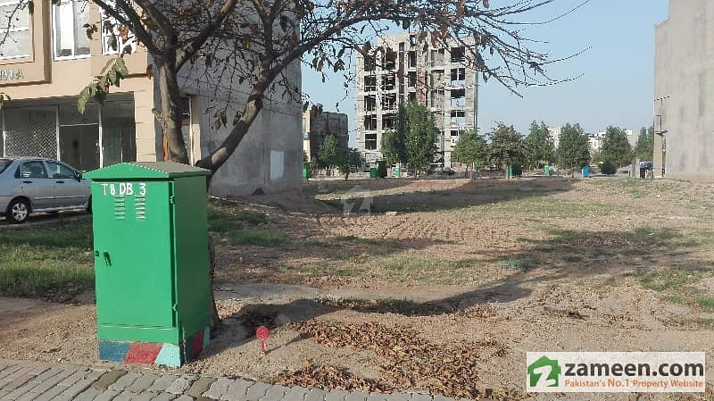2 Marla  Commercial Plot  For Sale In   Sector D Bahria Town Lahore