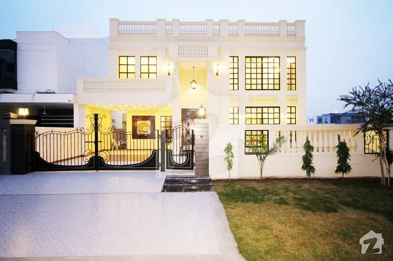 DHA 20 Marla Brand New Italian House Direct Approach Available For Sale