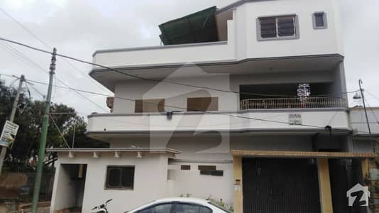 275 Sq Yards West Open 2 Side Corner House For Sale