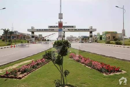 Corner Commercial Plot For Sale In Block G B-17 Islamabad