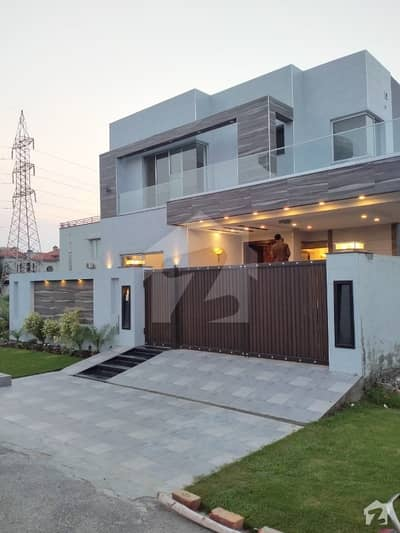 Dha Phase 8 Ex Air Avenue Brand New Luxury House Facing Park Near In Main Road