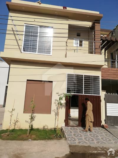 2 Marla Brand New House For Sale Double Unit In Khuda Bux Colony on Air Port Road