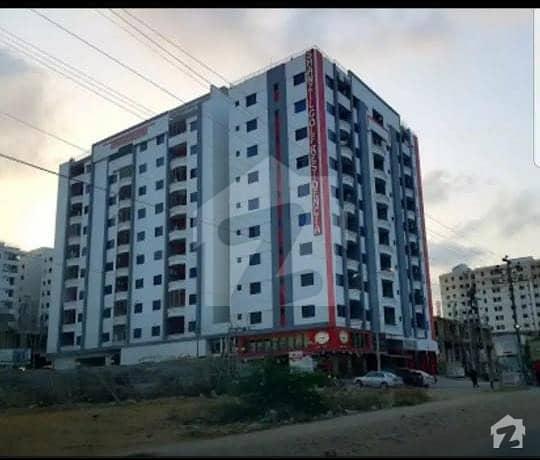شانزیل گالف ریزڈینسیا جناح ایونیو کراچی میں 2 کمروں کا 4 مرلہ فلیٹ 62 لاکھ میں برائے فروخت۔