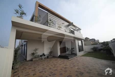 20 Marla Custom Made Double Unit Corner 1 Kanal With Basement Owner Builder Banglow In Dha Phase 6  Lahore Available
