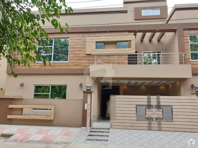 10 Marla Brand New House Is Available For Sale In Muslim Town Ultra Modern House Solid Construction