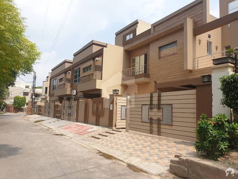 18 Marla Brand New House Is Available For Sale In Muslim Town Ultra Modern House Solid Construction