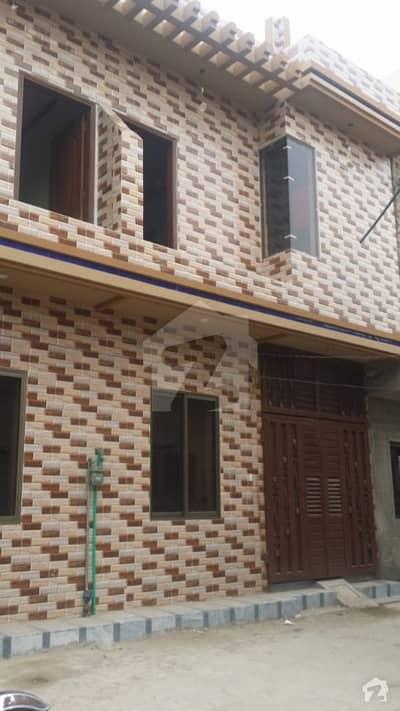 Double Storey House At Nishtar Colony