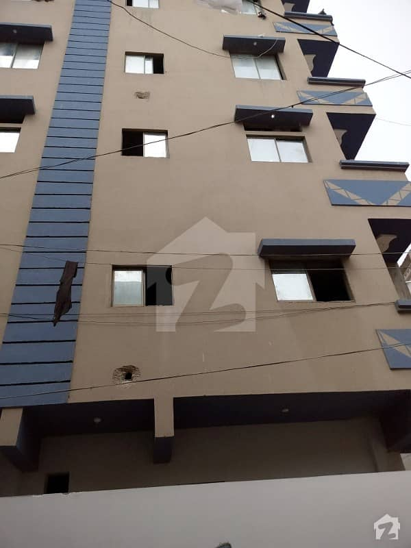 60 Sq Yards Ground Floor Flat West Open Double Side Corner With 5x20 Gallery With File