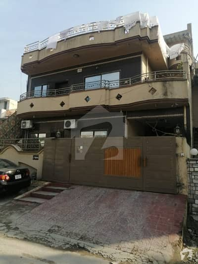 A Liveable Triple Story House Is Available For Sale In G 9 Islamabad