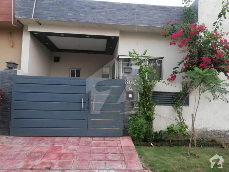 6 Marla Single Storey Self Constructed House With Accommodation Of 10 Marla House