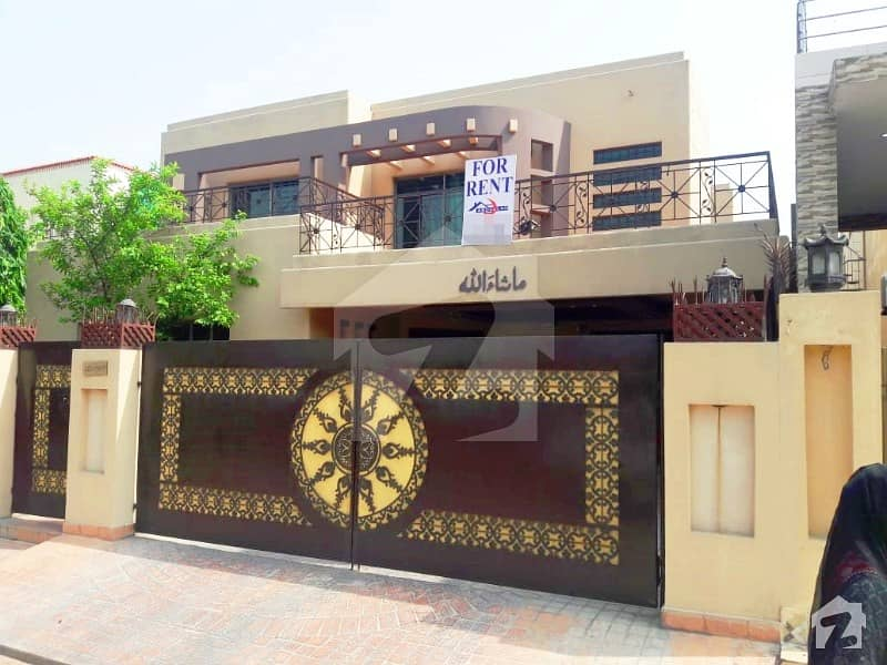 1 Kanal Beautiful With Ac Installed Full Bungalow For Rent