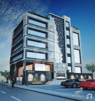 کلفٹن ۔ بلاک 4 کلفٹن کراچی میں 2 مرلہ دفتر 1.45 کروڑ میں برائے فروخت۔