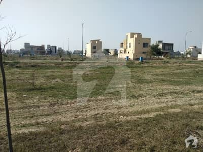 Good 1800  Square Feet Residential Plot For Sale In Dha 9 Town