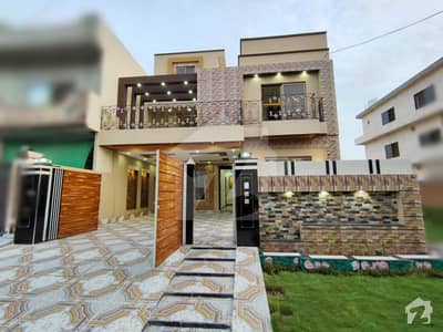 10 Marla Brand New Solid Construction House With Imported Accessories at Hot Location
