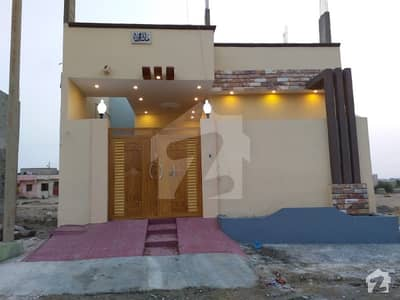 New House In Multicolor Society Near Gulshan E Maymar And Salfia Town