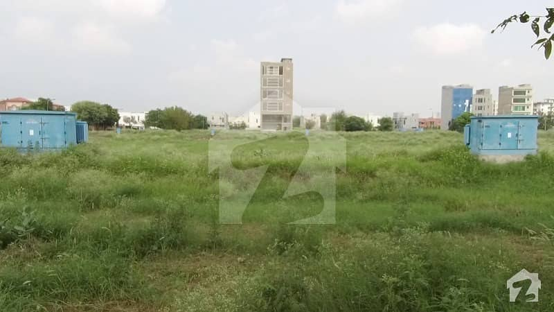 Extra Ordinary 32 Marla Commercial Plot For Sale In Phase 8 Q Block