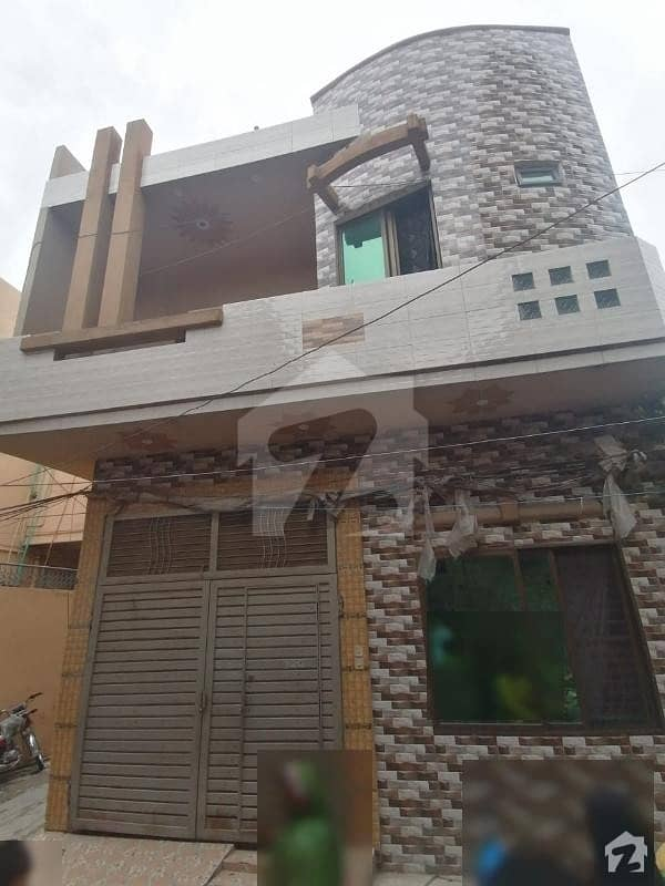 3 Marla Double Story Corner House For Sale Front 20 Feet