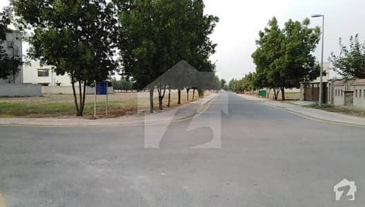 Corner Side 10 Marla Plot Possession Paid For Sale In Bahria Town Lahore