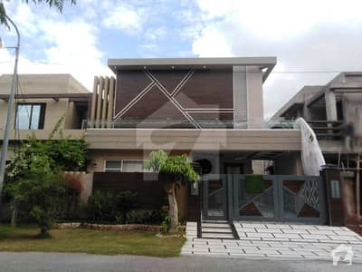 10 Marla Facing Park Furnished House For Sale In P Block Of DHA Phase 8 Lahore